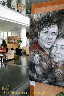 Lobby del salon social del Centro Deportivo Israelita