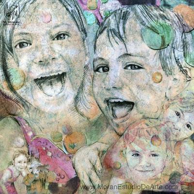 como hacer un recuerdo con fotos de mis  hijos