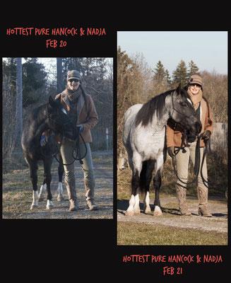 Danke an Besitzerin Nadja Hotter für die Umsetzung dieses Vergleichs!!