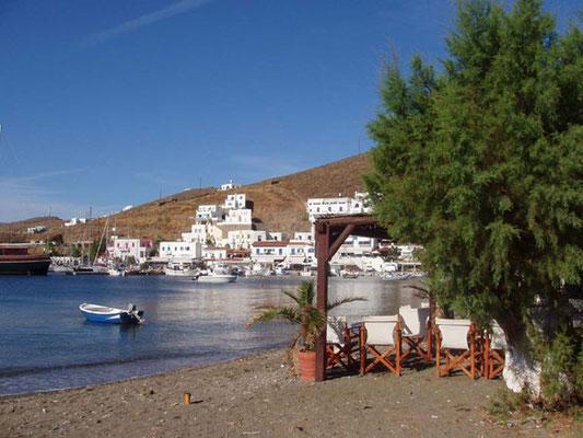 Der schönste Hafen?...Insel Kythnos, Mericha