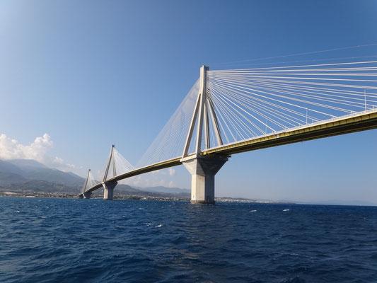 Hängebrücke Rion - Antirrion