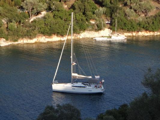 Auf der Insel Meganisi