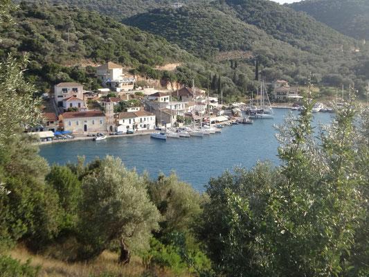 Ort Vathy auf Meganisi