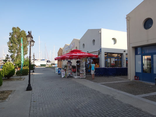 Supermarkt in der Marina Lefkas