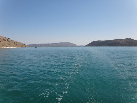 Ankern in der Bucht O. Petala