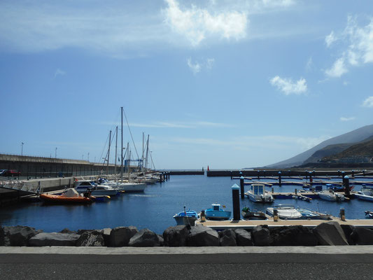 Puerto de la Estaca auf El Hierro