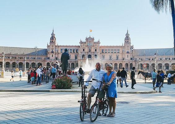 Visite à vélo Séville