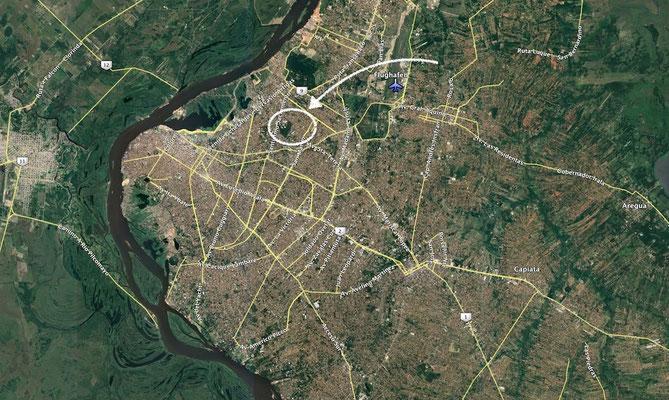 Im neuen Zentrum von Asunción gelegen.