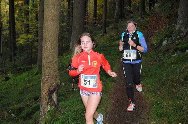 Julia Bauer - unsere jüngste LG-Läuferin