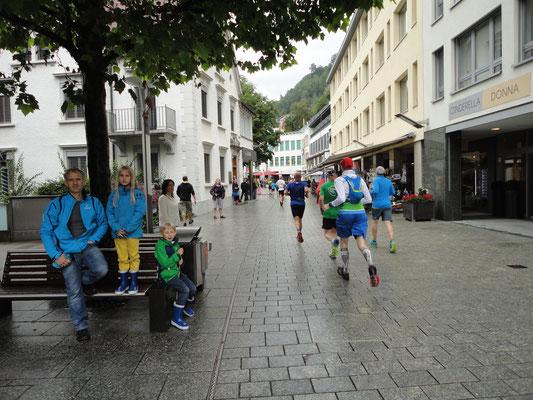 Fußgängerzone in der Hauptstadt Vaduz