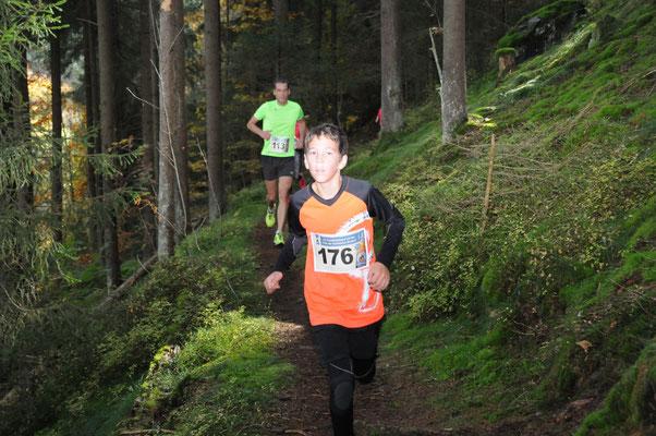 Jüngster Starter beim HL: der 10-jährige Elias Beyer