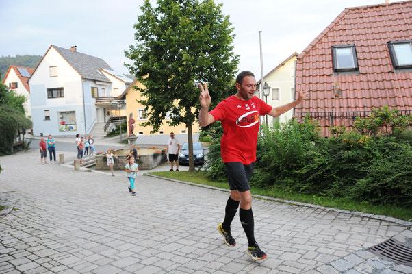 Er hat's geschafft: 2. Bürgermeister Thorsten Schieder