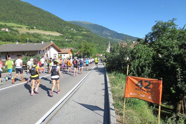 Spannende 42 Kilometer folgen noch