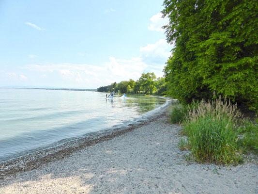 Blick zum Strandbad Horn (Hörnle)