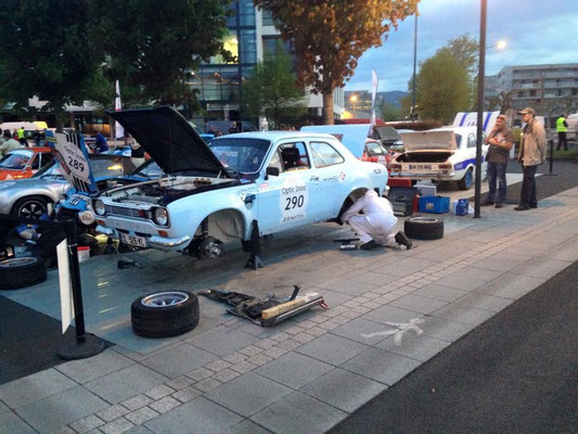 Assitance Fun Meca sport sur le Tour Auto