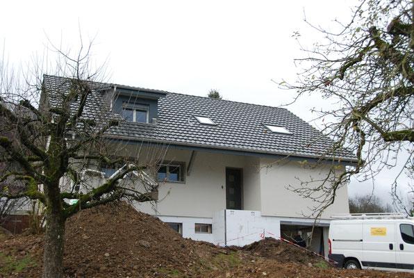 Aufstockung Dach EFH Moosstrasse, Oberhof