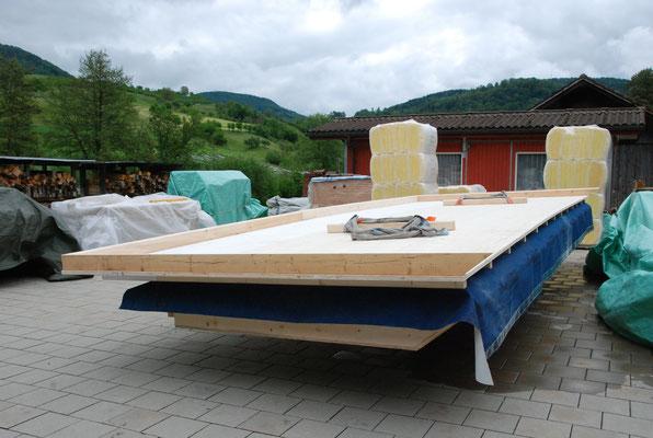 Vorfabriziertes Dachelement