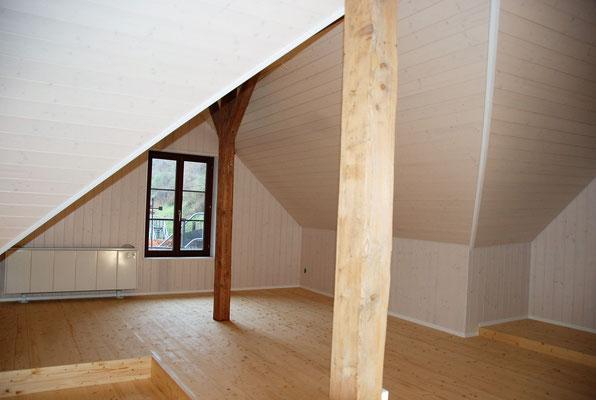Ausbau Dachgeschoss bei Altwohnung