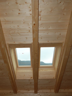 Dachfenster innen