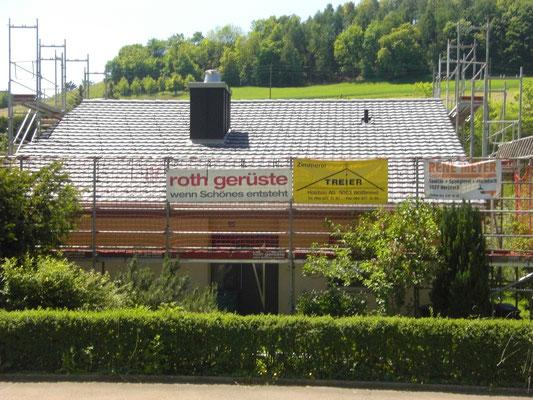 Dachsanierung EFH  Unterdorf, Wölflinswil