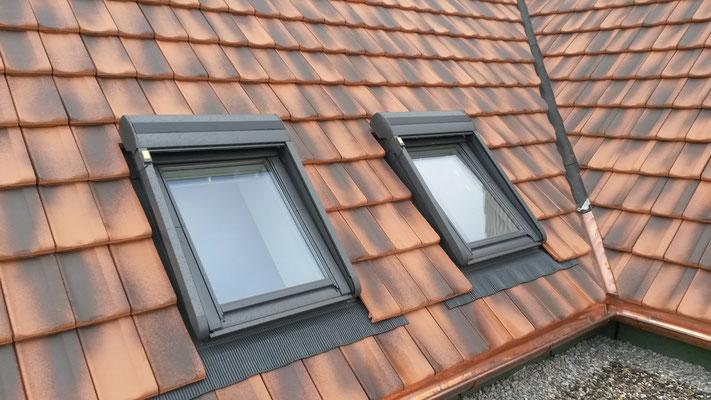 Dachfenster mit Aussenrollade