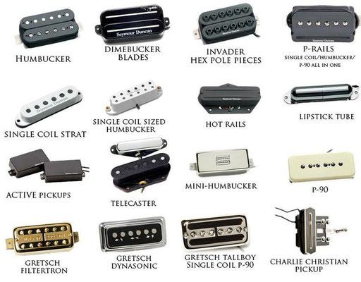 Les différent types de micros pour guitare électrique Seymour Duncan