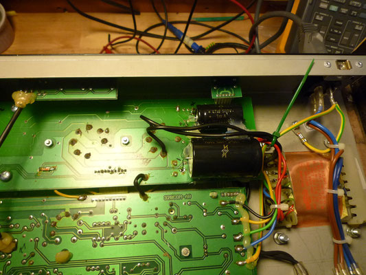ENGL : voila qui est mieux avec des condensateurs F&T neufs et fiables