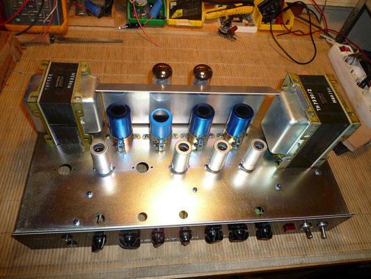 Hiwatt DR504 combo 79 50w (servi 1 an de  1979 à 1980, lampes neuves d'origine !!!