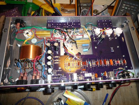 Ampli Budda moderne sur PCB mais très bien conçu.