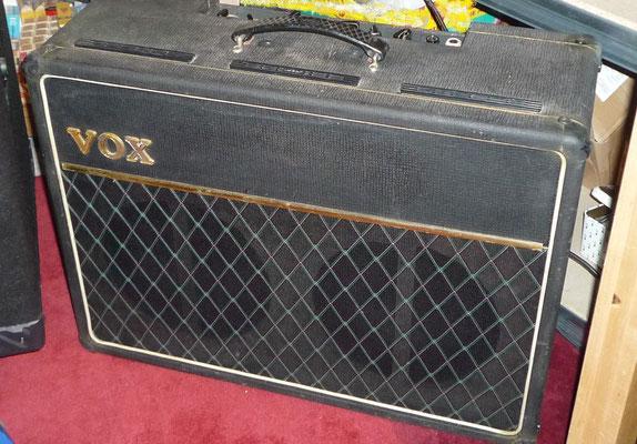 "Vox AC10 + Top Boost JMI 64   2x10""  alnico  gold & Silver"