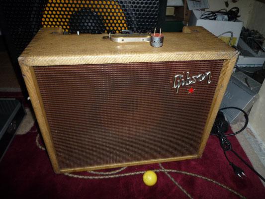 Gibson Tweed RVT 18W avec trémolo et reverb