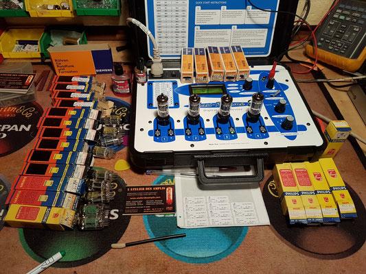 Maxi préamp (Maximatcher) Test d'un lot de ECC83