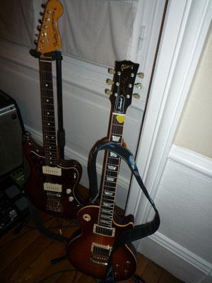 Fender et Gibson