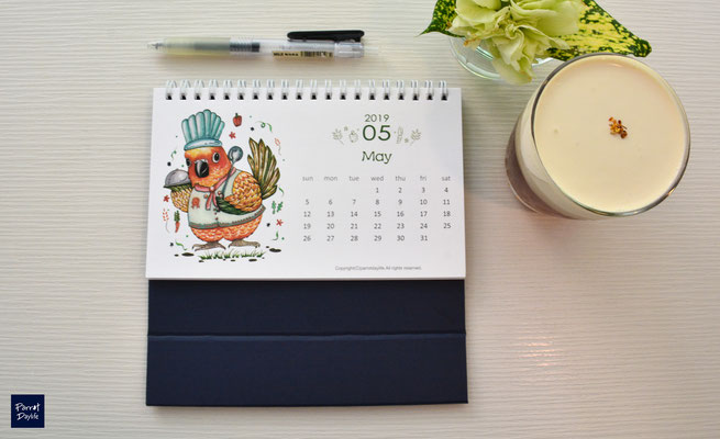五月品種:金太陽鸚鵡