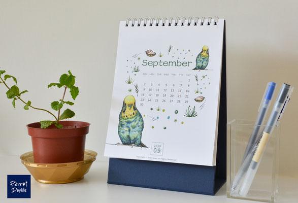 九月 品種:虎皮鸚鵡