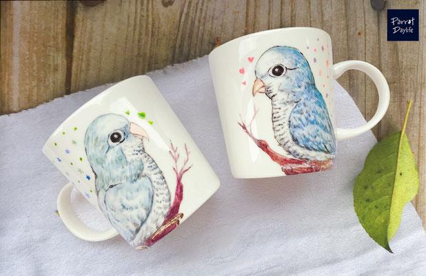 品種:藍和尚鸚鵡