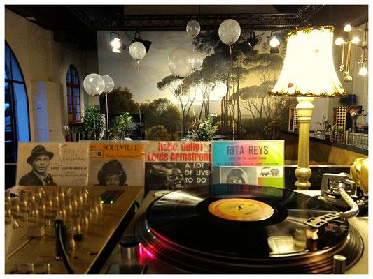 Jazz Bruiloft Vinyl DJ