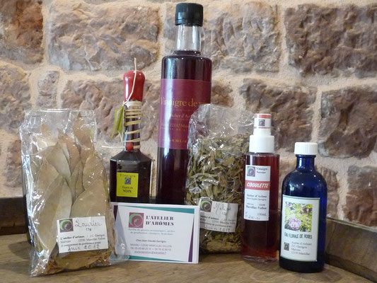 l'atelier des arômes à Marcillac