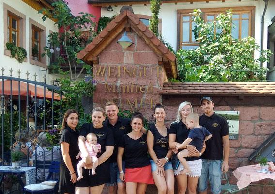 Weinfest Crew