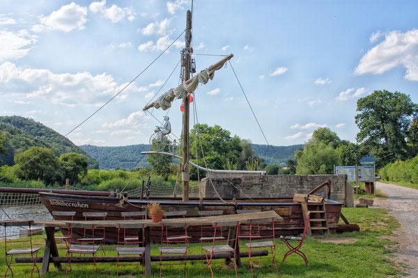 Wanfried - Historischer Hafen  ( Hessen ) 2019
