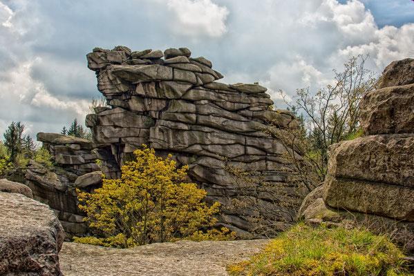 Geier Greifensteine Erzgebirge ( Sachsen )