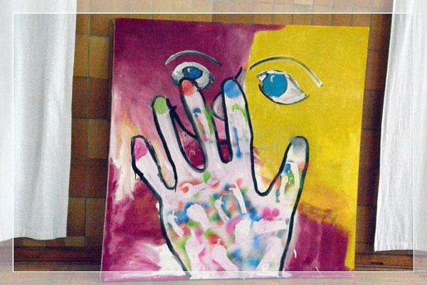 Kunst mit den Händen