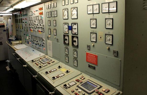Maschinenkontrollraum, Hilfssysteme
