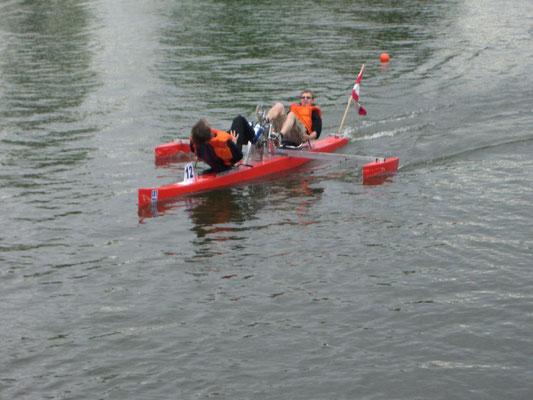 Das erfolgreiche Tretboot Rumpur (Foto Latte Berlin)