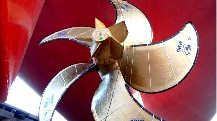 Abbildung 8: Propeller mit Flossenkappe (Quelle MMG)