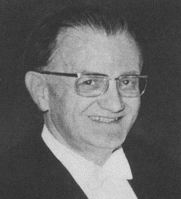 : Amtsberg war Ordinarius vom Lehrstuhl Theorie des Schiffes (Quelle Latte)