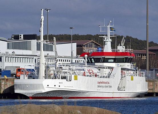"Abbildung 3:  Bunkerschiff  ""Seagas"" (Quelle Sirius Shipping)"