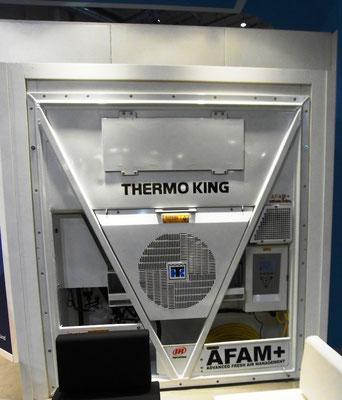 Abbildung 6: AFAM+ Integral-Kühlcontainer mit MA-Technologie von Thermoking für den optimierten Fruchttransport (Foto Dr. Hochhaus)