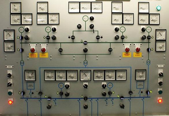 Maschinenkontrollraum, E-Anlage