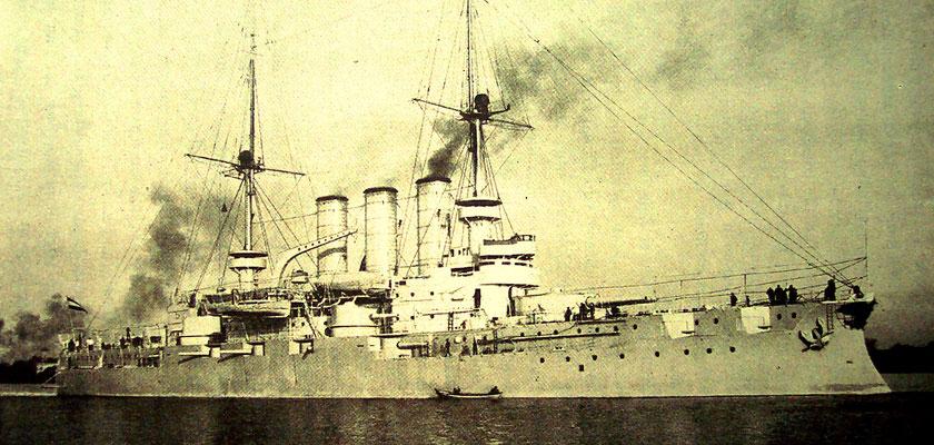 Linienschiff  Preußen, 13.200 t Deplacement, 16.000 PS Bauwerft Stettiner Vulkan (Quelle STG)
